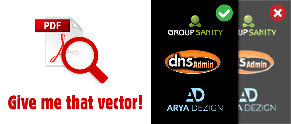 Finding That Perfect Vector Logo