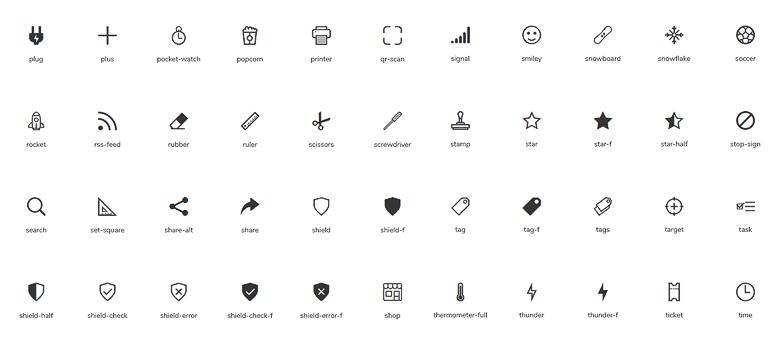 JAM icons